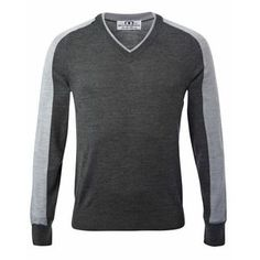 SALE! Alessandro Albanese Men's Vermont Knit Sweater - Charcoal