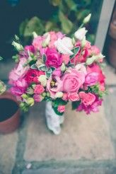 brautstrauß pink more bouquets pinks vintage weddings wedding ideas ...