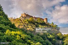Cetatea Poenari, Poenari Castle, 13th century, on cliff above... #arefu: Cetatea Poenari, Poenari Castle, 13th century, on cliff… #arefu