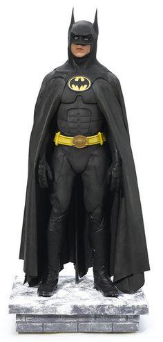 A Michael Keaton Batman costume from Batman Returns Batman Art 52d48c8c9