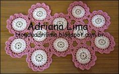 Adriana Lima: Mini caminho de mesa Elisa