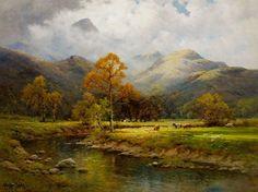 The English Lakes, Autumn in Easedale - Alfred Fontville de Breanski