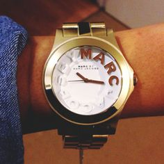 My new Marc Jacobs watch! -Rivera collection