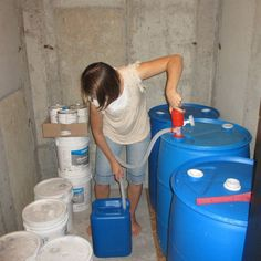 Good ideas for water storage & tips for showers, toilet waste, etc. read the comments below the article.