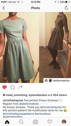 Emery Dress Inspiration