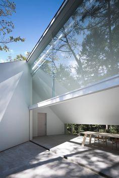'forest bath' by kyoko ikuta architecture laboratory and ozeki architects & associates in nagano, japan