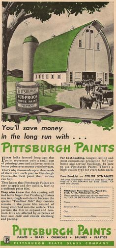 Aw, The Good Old Days When It Was Considered High Tech To Boast Of  Chemicals. The Good Old DaysPittsburgh PaVintage ...