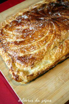 Delícias da Pipas: Galette des Rois e o primeiro dia na cozinha