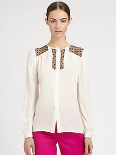 Milly Silk Blouse
