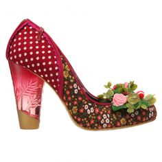 Bubba wedding shoes by Irregular Choice.  Bubba?