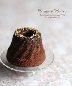 *ショコラ・クグロフ* Tea cake by Nunu's house