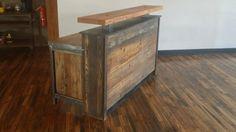 Recepción Industrial madera reciclada por AmericanOutpostShop