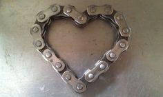 Motocross Heart by MotoMetalFab on Etsy, $10.00
