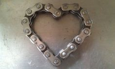 Motocross Heart by MotoMetalFab on Etsy, $10.00