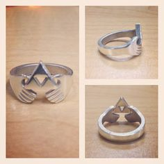 Zelda Claddagh Ring- OH MY GOSH YES. The Claddagh story of friendship, love, and dedication has so many parallels in the Legend of Zelda!