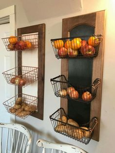 But instead of fruit diapers, wipes and bath stuff. But instead of fruit diapers, wipes and bath stuff. Kim's Kitchen, Home Decor Kitchen, Home Kitchens, Kitchen Storage, Industrial Home Design, Industrial House, Diy Home Crafts, Diy Home Decor, Metal Barn Homes