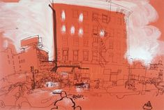 Lucinda Rogers - New York - Canal Street Building