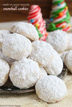 snowball cookies recipe 1