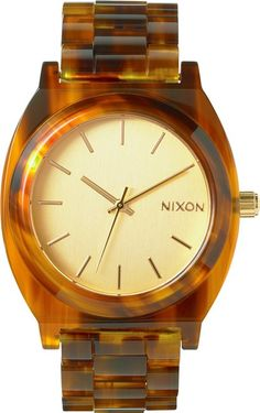 Nixon Time Teller Acetate Watch http://www.swell.com/Womens-Watches/NIXON-TIME-TELLER-ACETATE-WATCH-1?cs=BR @SWELL