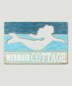 'Mermaid Cottage' Wall Sign