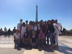 Northern Europe Tour June 2014 - Eifell Tower Group Picture