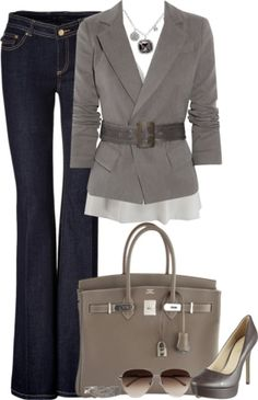 Cute business casual outfit