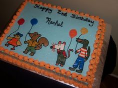 Maisy Mouse Birthday Cake