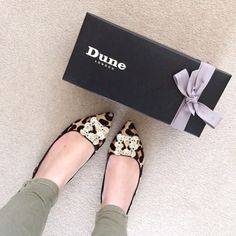 Instagram: Shop Briella #dunelondon #dune #shoes #leopard #flats #fashion #style