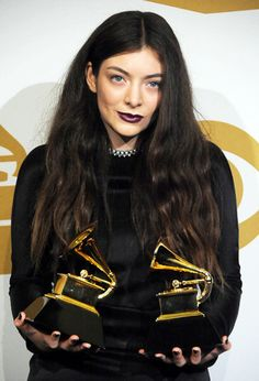 Lorde picked up 2 Grammys at the Annual Grammy Awards. Daft Punk, Grammy Awards 2014, Celebs, Celebrities, Girl Crushes, Role Models, Music Artists, Beautiful People, Beautiful Women