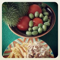 Fries and chanterelles. Photo by mademoiselle MAYBEE. August 2013, Estonia.