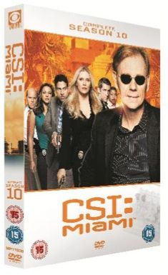 COMPETITION! WIN 1 of 3 copies of CSI Miami Season 10 on DVD! *NOW CLOSED*