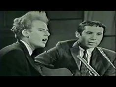 ▶ Simon  Garfunkel - The Sound of Silence 1966 live