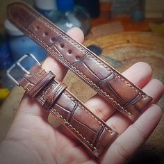 """Mrtiptopleather's Instagram post: """"20*18 , 22*20, 24*22 and 26*22. Genuine products handmade from A to Z.…"""" Belt, Bracelets, Instagram Posts, Handmade, Accessories, Jewelry, Products, Belts, Waist Belts"""