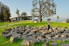 Nadikvari Square Rehabilitation by Architectural Bureau  #architecture #arq #building #healthcare #rehabilitation