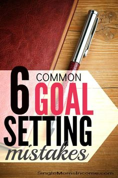 6 Common Goal Setting Mistakes and How to Overcome Them - Help For Single Moms - Ideas of Help For Single Moms - Are you ready to make your goals come to life this year? If so you'll want to prepare yourself for these six common goal setting mistakes. Achieving Goals, Achieve Your Goals, Goal Setting Worksheet, Common Goal, Setting Goals, Goal Settings, Personal Goals, Personal Finance, Goal Planning