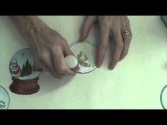 How to create a shaker snow globe card