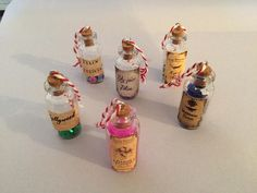 Harry Potter potions charms tree decorations