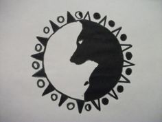 Ying Yang Wolf Style Tattoo Drawing - courtneypowdrill © 2016 ...