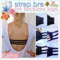 d59b6212b1 This trick will come in handy for summer! Backless Bra
