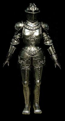 Full Suit of Gothic Armor for Women.