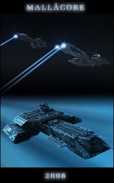 Asteroid hide away by Mallacore on DeviantArt Stargate Movie, Stargate Ships, Stargate Atlantis, Spaceship Art, Spaceship Design, Science Fiction, Cosmos, Stargate Universe, Starship Concept