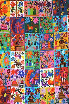 Stock Photography: Mexican Quilt. Image: 6962672