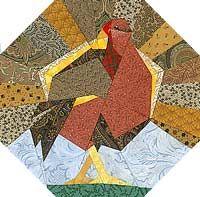 Tom Turkey Paper-Pieced Quilt Pattern at Paper Panache