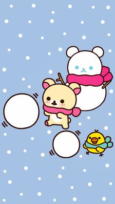 Rilakkuma Wallpaper, Sanrio Wallpaper, Kawaii Wallpaper, Iphone Wallpaper, Sanrio Characters, Cute Characters, Cute Pastel Wallpaper, Cactus Drawing, Japanese Stationery