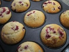 Rezept: Backen: Johannisbeer-Muffins Bild Nr. 6