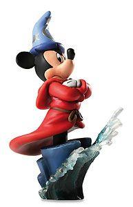 Fantasia - Sorcerer Mickey - Bust - Walt Disney Mini Busts - World-Wide-Art.com - $65.00 #Disney #MickeyMouse