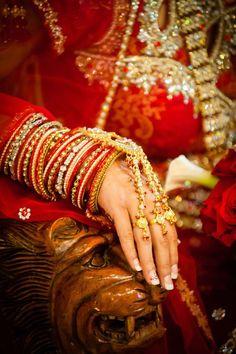 indian bridal bangles  more inspiration @ http://www.ModernRani.com