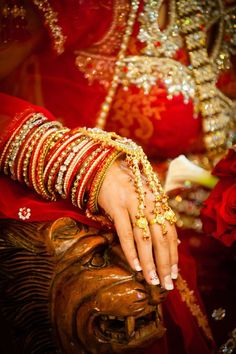 Elegant!     Aline for Indian weddings!