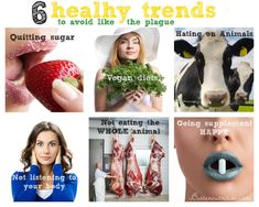 """6 """"healthy"""" trends to avoid like the plague!   Butter Nutrition"""