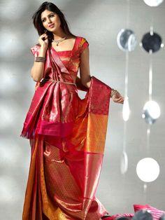 Top 10 Pattu Blouse Designs For Indian Silk Sarees 2017 for Girls – Fashion Cluba Pattu Saree Blouse Designs, Blouse Designs Silk, Indian Silk Sarees, Indian Beauty Saree, Indian Dresses, Indian Outfits, Indiana, Sari Bluse, Indische Sarees